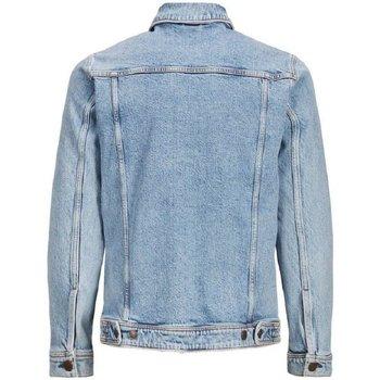 Giacca in jeans Jack   Jones  Giubbino Jeans Uomo Ean  colore Blu