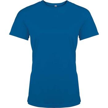 Abbigliamento Donna T-shirt maniche corte Proact T-Shirt femme manches courtes  Sport bleu marine