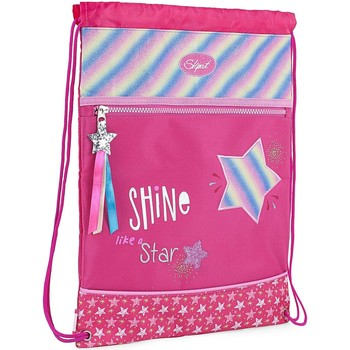 Borse Bambina Borse da sport Skpat SHINE LIKE A STAR Nylon Fucsia