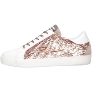 Scarpe Bambina Sneakers basse Meline C-WEB-01352 Bianco/rosa