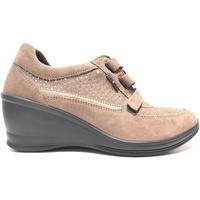 Scarpe Donna Sneakers basse Enval ATRMPN-17406 Beige