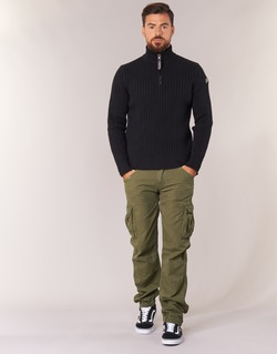 Abbigliamento Uomo Pantalone Cargo Schott BATTLE Kaki