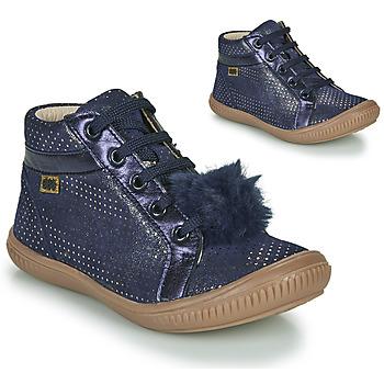 Scarpe Bambina Sneakers alte GBB ISAURE Blu