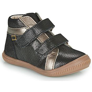 Scarpe Bambina Sneakers alte GBB EDEA Nero