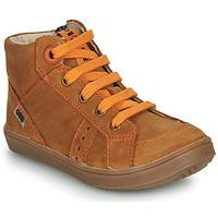 Scarpe Bambino Sneakers alte GBB ANGELITO Marrone