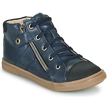 Scarpe Bambino Sneakers alte GBB KAMIL Blu