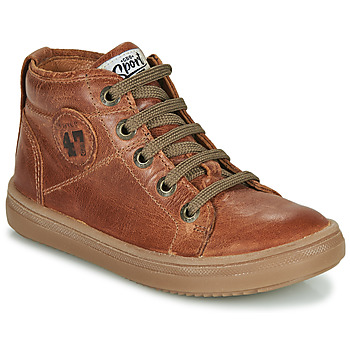 Scarpe Bambino Sneakers alte GBB KELIG Marrone