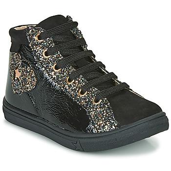 Scarpe Bambina Sneakers alte GBB MARTA Nero