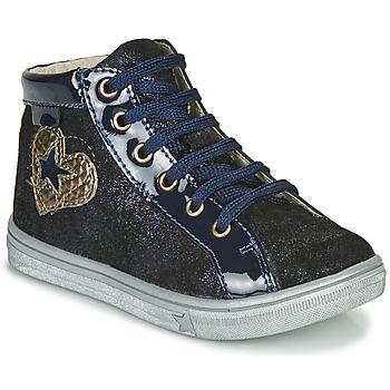 Scarpe Bambina Sneakers alte GBB MARTA Blu