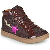 Scarpe Bambina Sneakers alte GBB TADEA Bordeaux