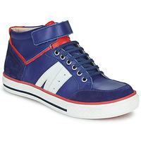 Scarpe Bambino Sneakers alte GBB ALIMO Blu