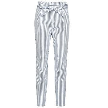 Abbigliamento Donna Chino Vero Moda VMEVA Bianco / Grigio
