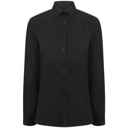 Abbigliamento Donna Camicie Henbury HB513 Nero