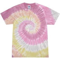 Abbigliamento Donna T-shirt maniche corte Colortone Rainbow Rosa Deserto