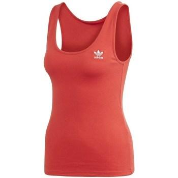 Abbigliamento Donna Top / T-shirt senza maniche adidas Originals Tank Top Rosso