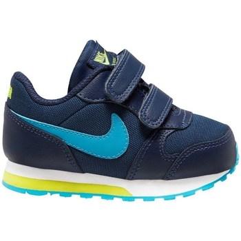 Scarpe Bambino Running / Trail Nike MD Runner 2 Blu marino