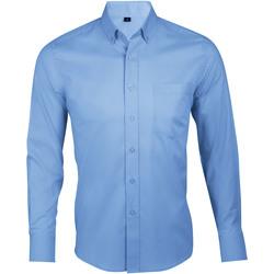 Abbigliamento Uomo Camicie maniche lunghe Sols BUSINESS MEN Azul