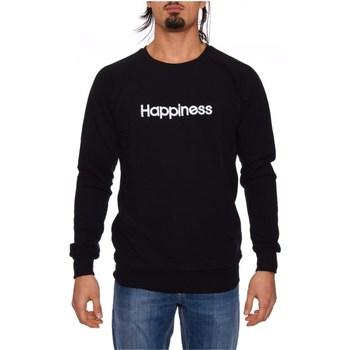 Abbigliamento Uomo Felpe Happiness CREW_HAP NERO