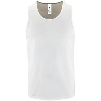Abbigliamento Uomo Top / T-shirt senza maniche Sols SPORT TT MEN Blanco