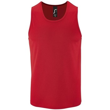 Abbigliamento Uomo Top / T-shirt senza maniche Sols SPORT TT MEN Rojo
