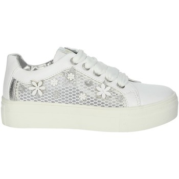 Scarpe Bambina Sneakers basse Asso AG-5307 BIANCO