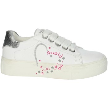 Scarpe Bambina Sneakers basse Asso AG-5301 BIANCO