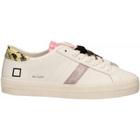 Scarpe Donna Sneakers basse Date HILL LOW CALF PYTHON bianco-giallo