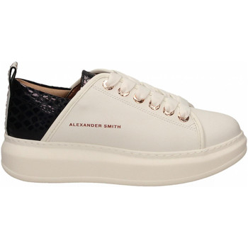 Scarpe Donna Sneakers basse Alexander Smith WEMBLEY white-black
