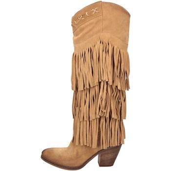 Scarpe Donna Stivali Zoe FLORIDA12 Texani E Bikers Donna Camel Camel