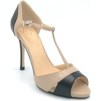 Scarpe Donna Sandali Chantal 1146 Nude-nero