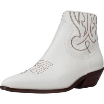 Scarpe Donna Stivaletti Alpe 4585 05 Bianco