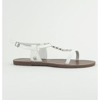 Scarpe Donna Sandali Chattawak Sandale 9-PETUNIA Blanc Bianco