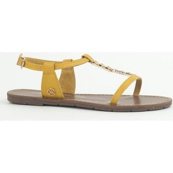 Scarpe Donna Sandali Chattawak Sandale 9-PETUNIA Jaune Giallo