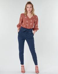 Abbigliamento Donna Pantaloni 5 tasche Vero Moda VMEVA Marine