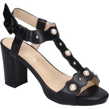 Scarpe Donna Sandali Brigitte sandali pelle sintetica nero