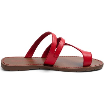 Scarpe Donna Sandali Chattawak Tong 9-TEXANE Rouge Rosso