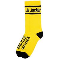 Accessori Uomo Calzini Jacker After logo socks Giallo