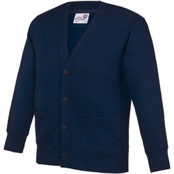 Abbigliamento Unisex bambino Gilet / Cardigan Awdis  Blu navy
