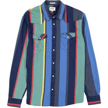 Abbigliamento Uomo Tuta Wrangler Chemise  Western 2 Pocket multicolore