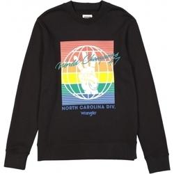 Abbigliamento Uomo Felpe Wrangler Sweat  Globe noir/multicolore