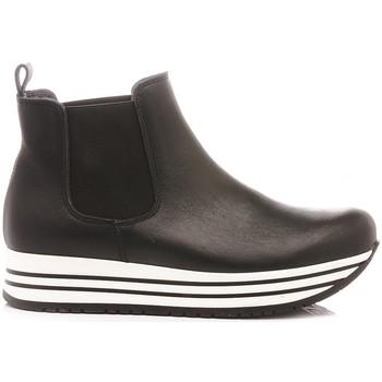 Scarpe Bambina Stivaletti Chiara Luciani Chiara Luciani Stivaletto-Sneakers Bambina A171 nero