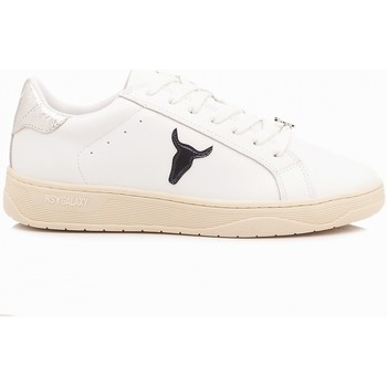 Scarpe Donna Sneakers basse Windsor Smith Sneakers Donna Galaxy Bianco bianco, argento