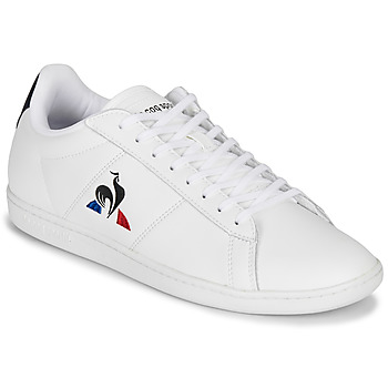 Scarpe Uomo Sneakers basse Le Coq Sportif COURTSET Bianco / Marine