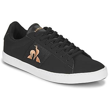 Scarpe Donna Sneakers basse Le Coq Sportif ELSA Nero / Rosa