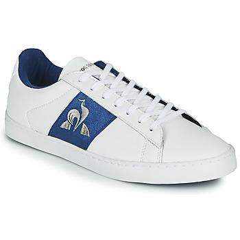 Scarpe Donna Sneakers basse Le Coq Sportif ELSA Bianco / Blu