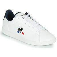 Scarpe Unisex bambino Sneakers basse Le Coq Sportif COURTSET GS Bianco / Blu