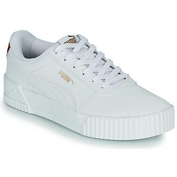 Scarpe Donna Sneakers basse Puma CARINA Bianco / Leopard