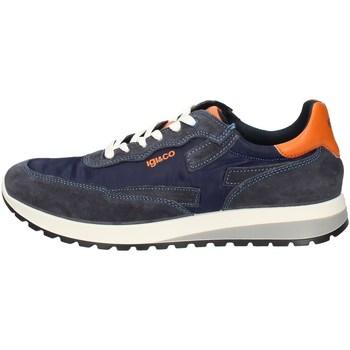 Scarpe Uomo Sneakers basse Igi&co 51274/22 BLU