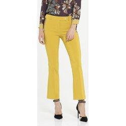 Abbigliamento Donna Pantaloni Cannella ATRMPN-17654 Giallo