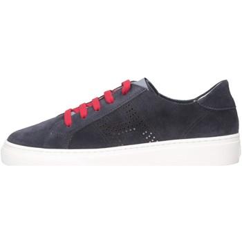 Scarpe Unisex bambino Sneakers basse Hogan HXC3400CT80I9SU801 Sneakers Bambino Blu Blu